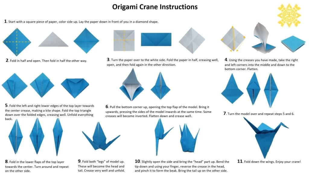 How To Make an Origami Flapping Bird - EASY step by step! - YouTube | 575x1024